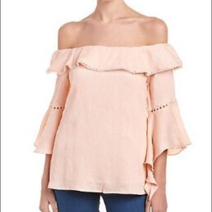 Bell Sleeve Blouse - Off the Shoulder